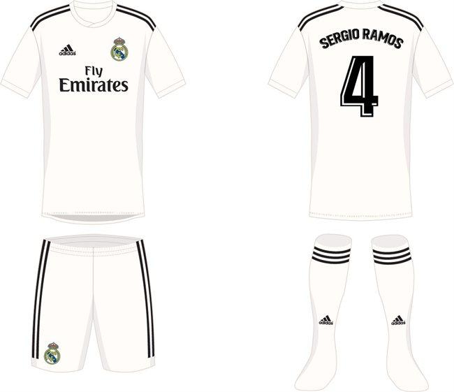 277f6f028ce62 Gareth Bale alucina con el diseño de las camisetas del Real Madrid ...