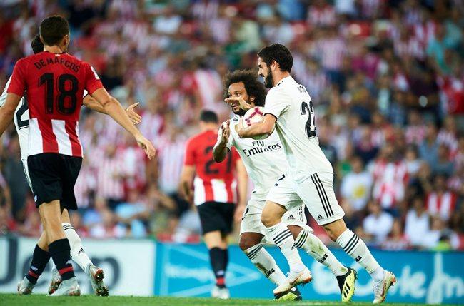 Marcelo recibe homenaje por sus 12 años en el Real Madrid