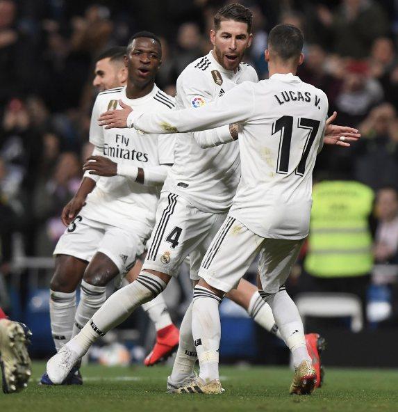 Sergio Ramos acerca al Real Madrid a semifinales de Copa del Rey