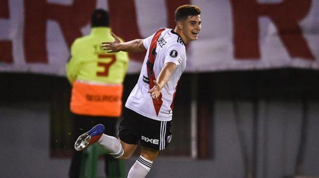 Álvarez marcó el 1 a 0.