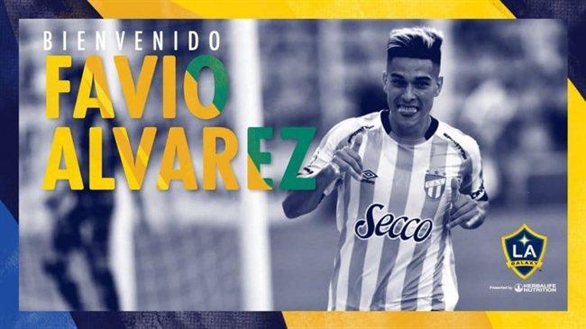 LA Galaxy oficializó la llegada de Álvarez