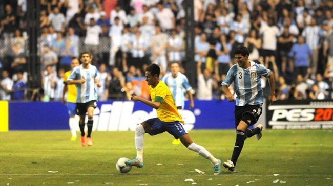 Neymar en La Bombonera