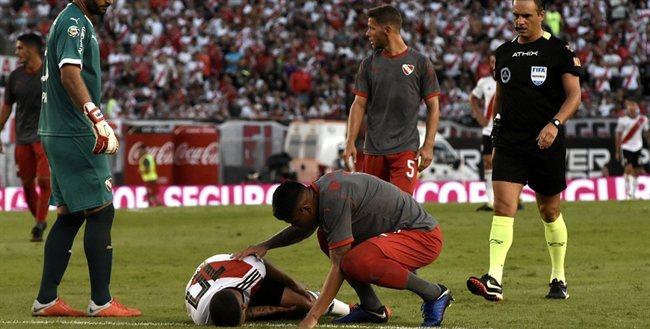 La lesión de Quintero.