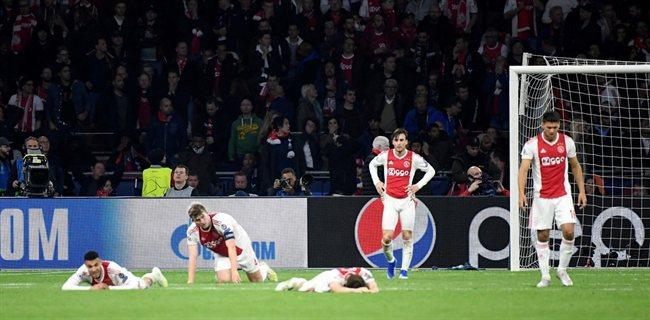 El Ajax, desolado.