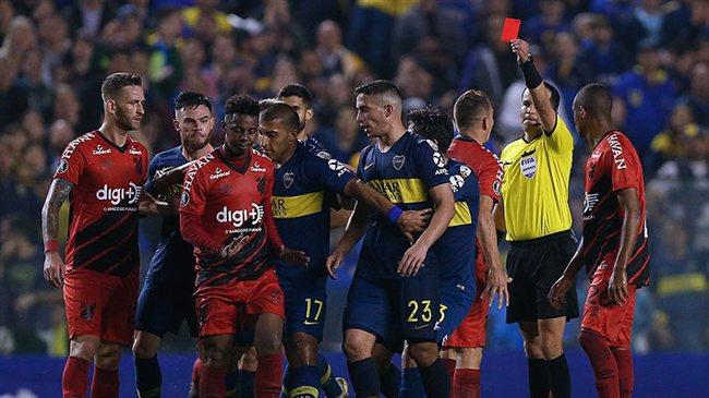 Boca y Atlético Paranaense