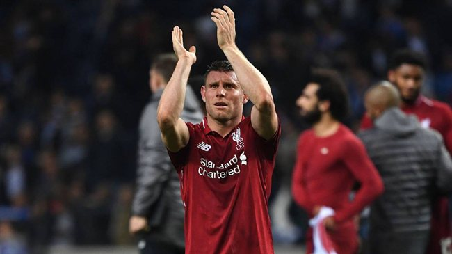 Insulto de Messi a Milner en Barcelona-Liverpool
