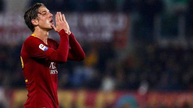 Zaniolo, jugador del AS Roma