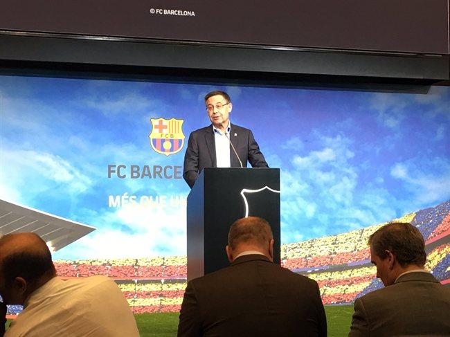 Josep Maria Bartomeu, presindente del Barça