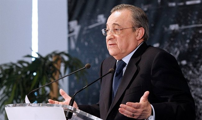Florentino Pérez, presidente del Madrid