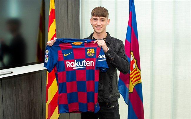 Louie Barry, recién firmado por el Barça