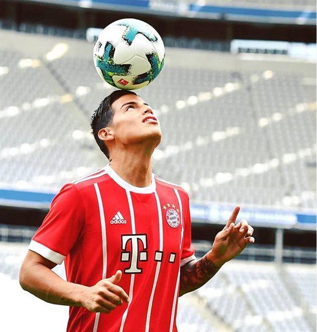James, con el Bayern de Múnich