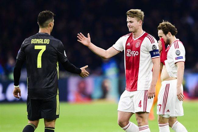 Matthijs de Ligt, con el Ajax