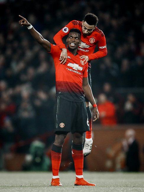Paul Pogba, con el Manchester