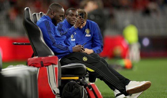 Lukaku, con el Manchester