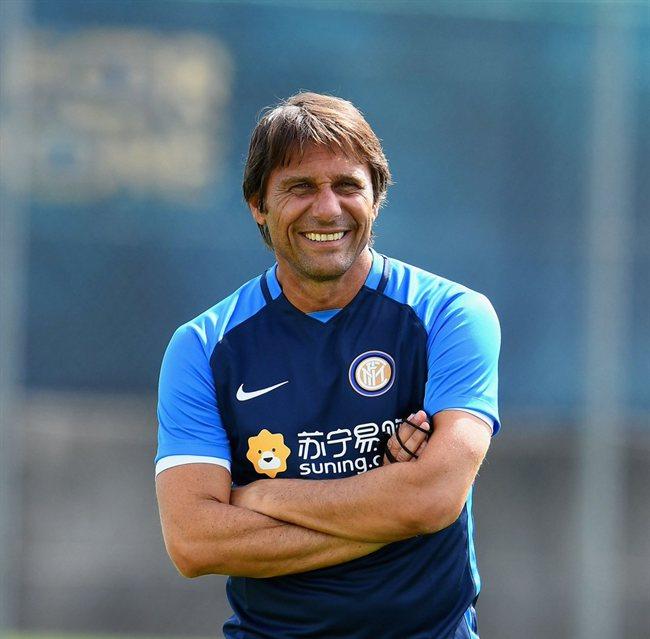 Antonio Conte, con el Inter