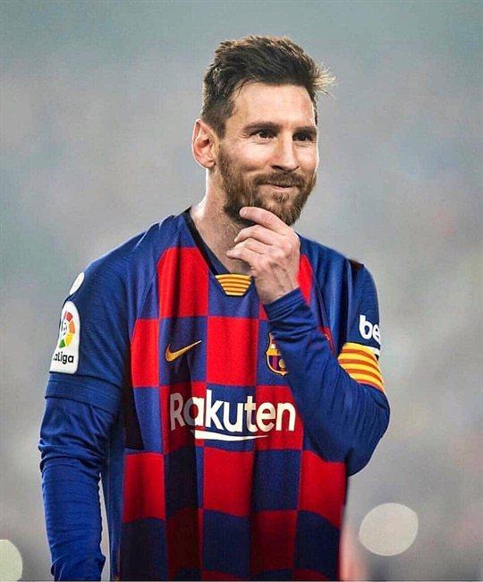 Leo Messi, con la nueva equipación del Barça