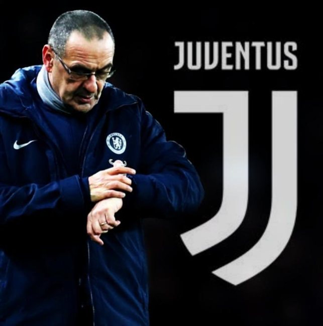 Mauricio Sarri, nuevo entrenador de la Juve