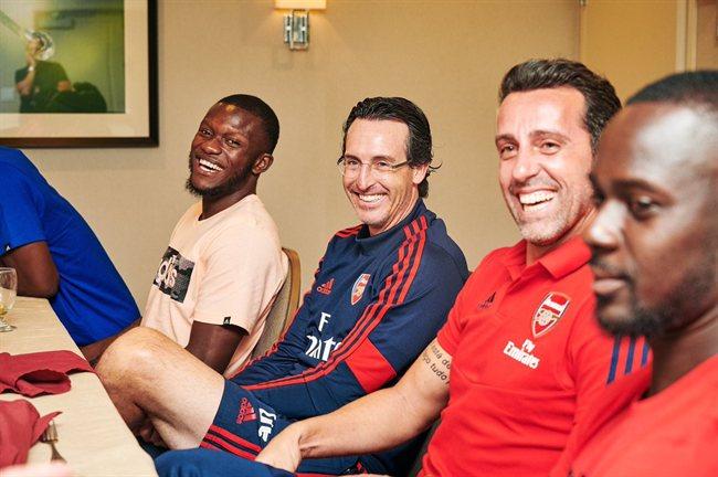 Unai Emery, entrenador del Arsenal