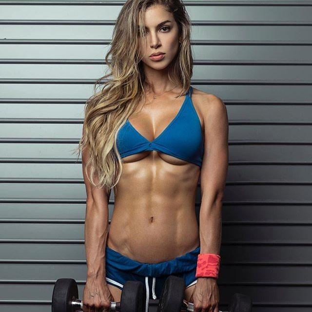Anllela Sagra, reina del fitness