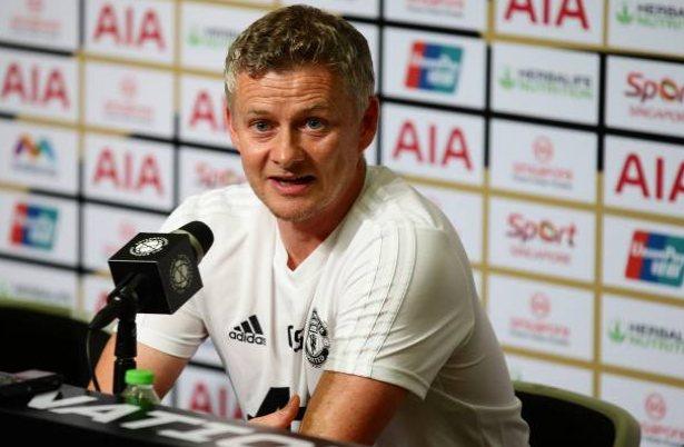 Solskjaer, entrenador del Manchester
