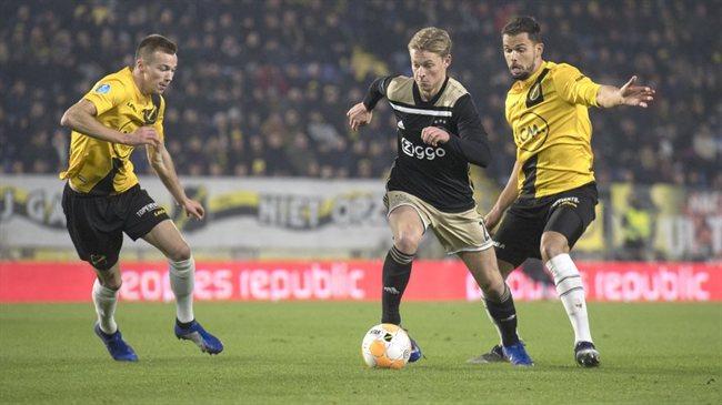 De Jong, con el Ajax