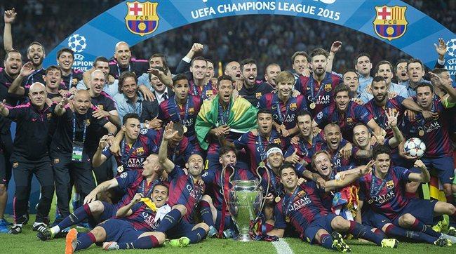 El equipo del Barça que quedó campeón de Champions