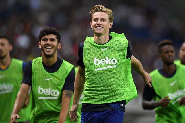 De Jong, con el Barça