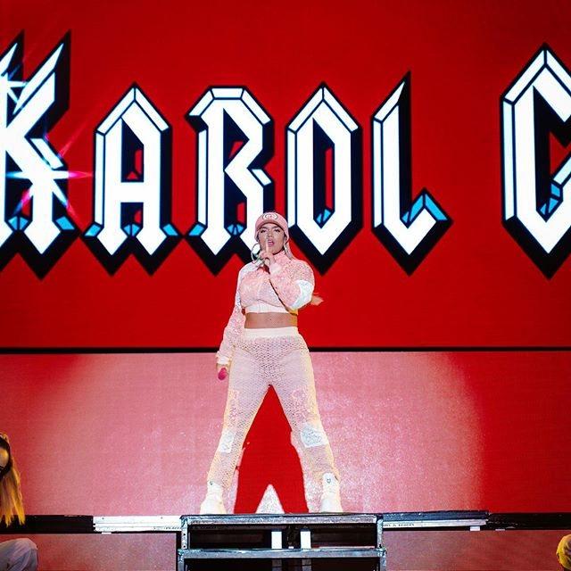 Karol G, en un concierto