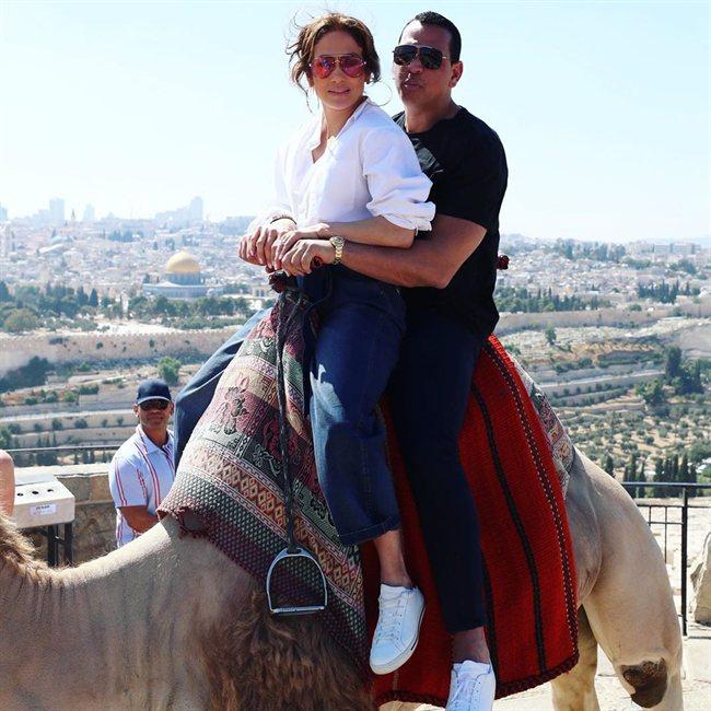 J Lo en Jerusalén