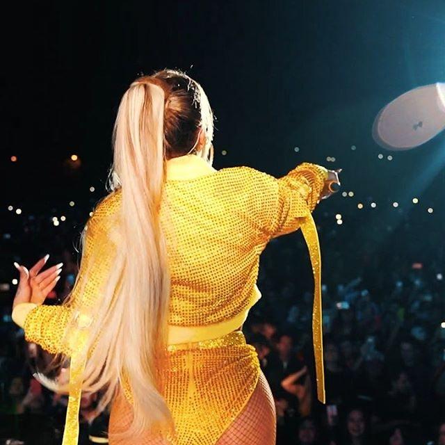 Karol G en un concierto