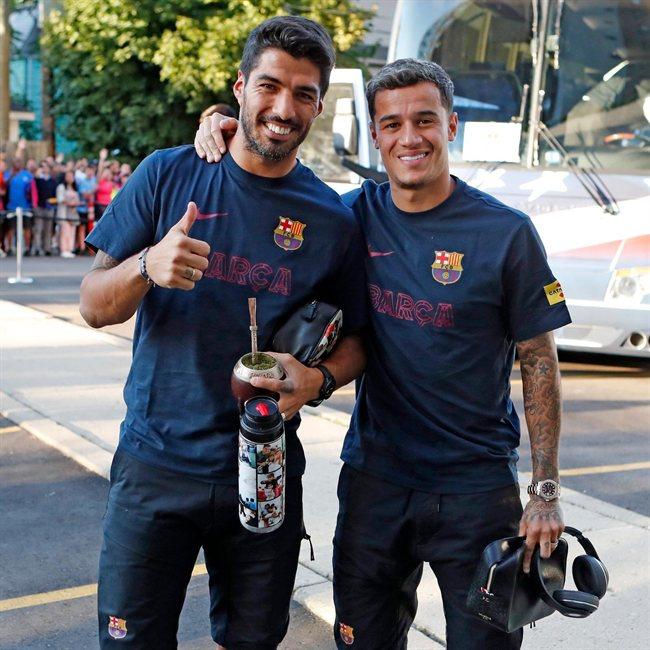 Suárez y Coutinho, en pretemporada