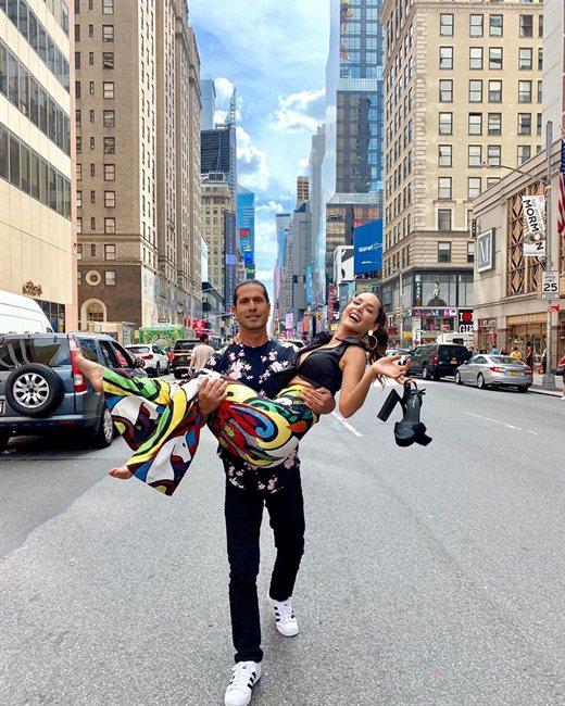 Carmen Villalobos, en Nueva York