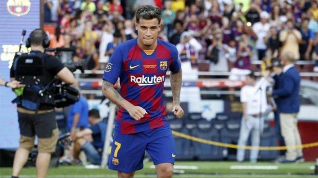 Coutinho, con el Barça