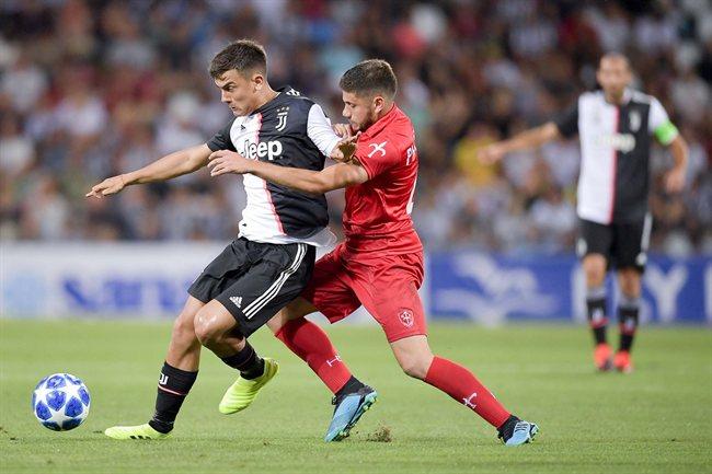 Paulo Dybala, en un partido