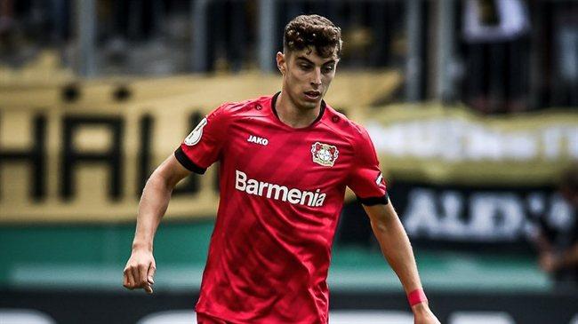 Kai Havertz, con el Leverkusen