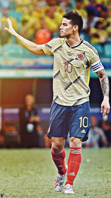 James, con Colombia