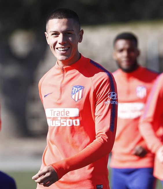 Atlético de Madrid, Nehuén Pérez