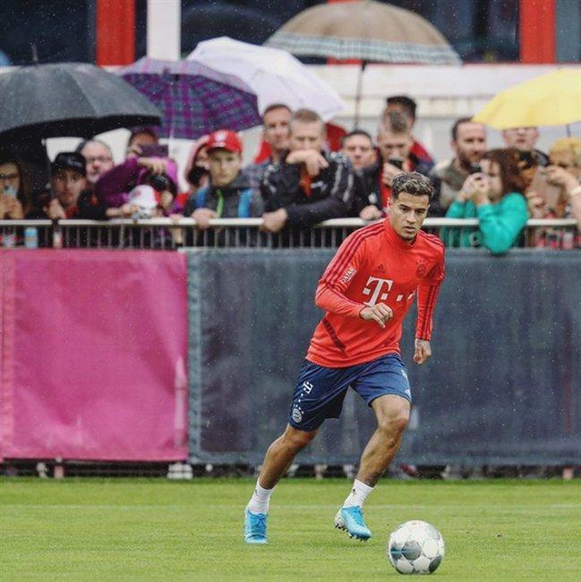 Coutinho, en el Bayern