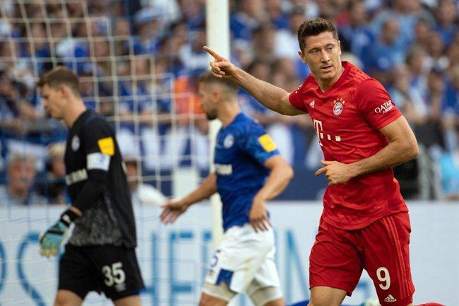 Lewandoski, con el Bayern