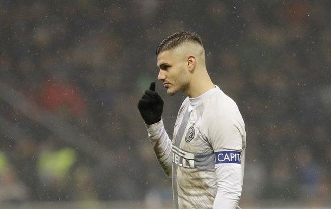 Mauro Icardi, en el Inter