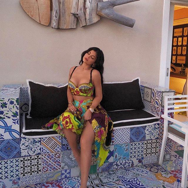 Kylie Jenner, en sus vacaciones