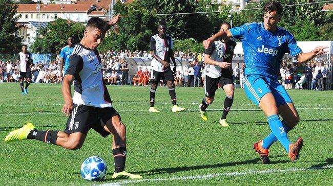 Paulo Dybala, en un partido de pretemporada