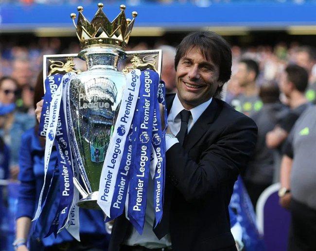 Antonio Conte, ganando la Premiere