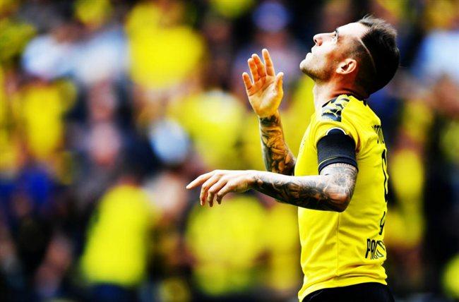 Alcácer con el Borussia Dortmund
