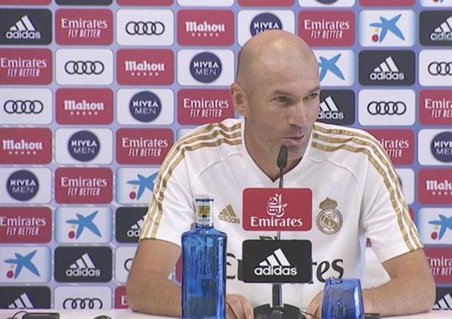 Zidane prensa