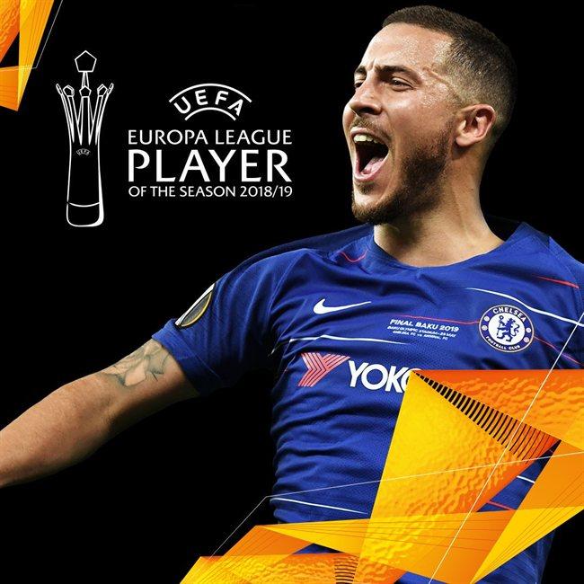 Hazard, mejor jugador de la UEL