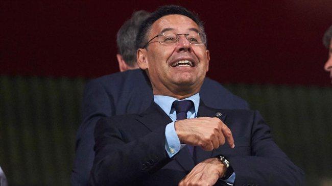 El presindente del Barça