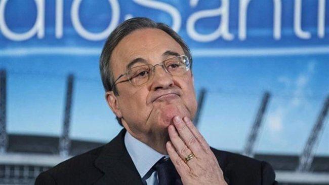 Florentino, presindente del Madrid
