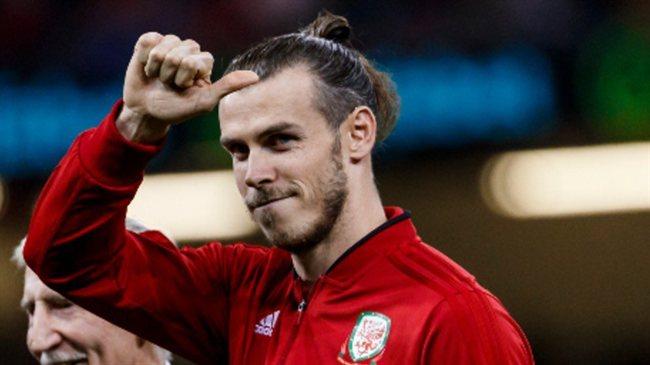Bale con su selección