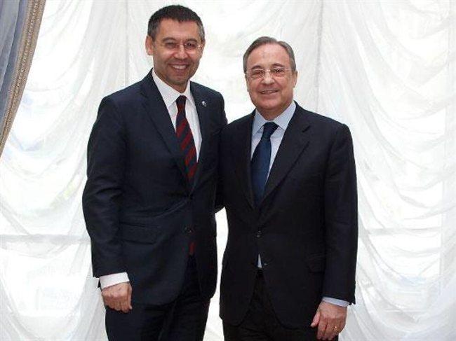 Bartomeu y Florentino Pérez